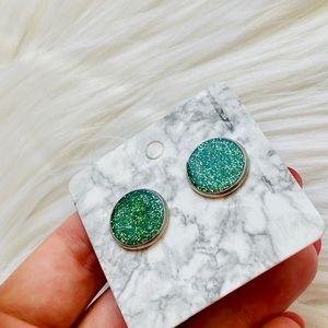 handmade Jewelry - St Patrick's day earrings